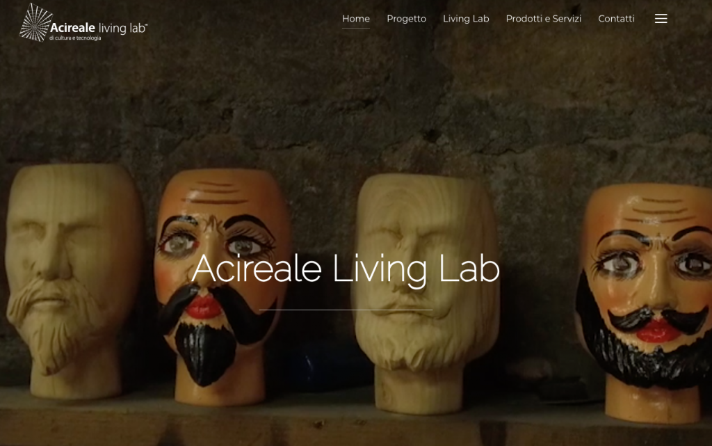 Homepage Acireale Living Lab